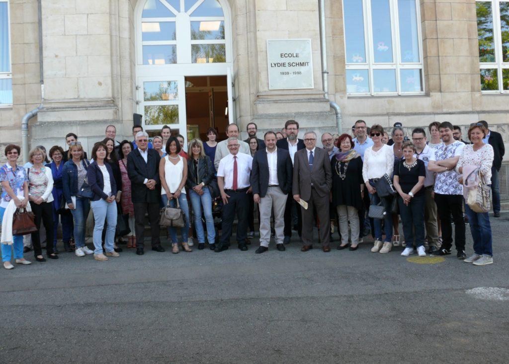Inauguration des nouvelles infrastructures de l'Ecole Lydie Schmit