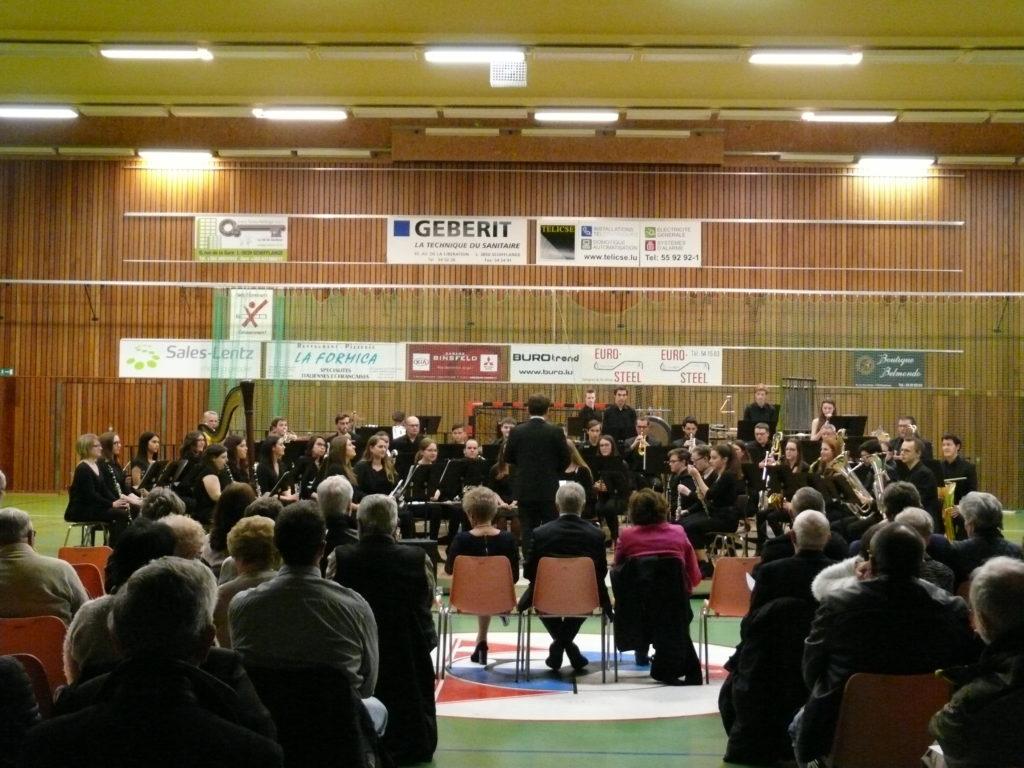 Concert de l'Orchestre d'Harmonie du Conservatoire d'Esch-sur-Alzette