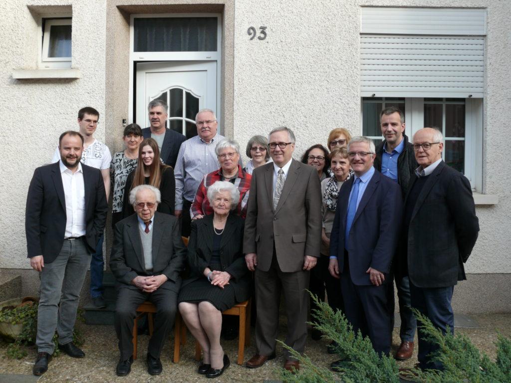 Mme Anna Günther-Giacomini huet hir 90 Joer gefeiert