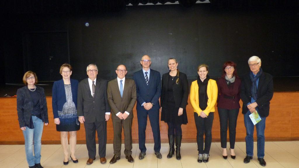 Signature d'un projet transfrontalier interreg visant à améliorer la qualité des eaux de l'Alzette