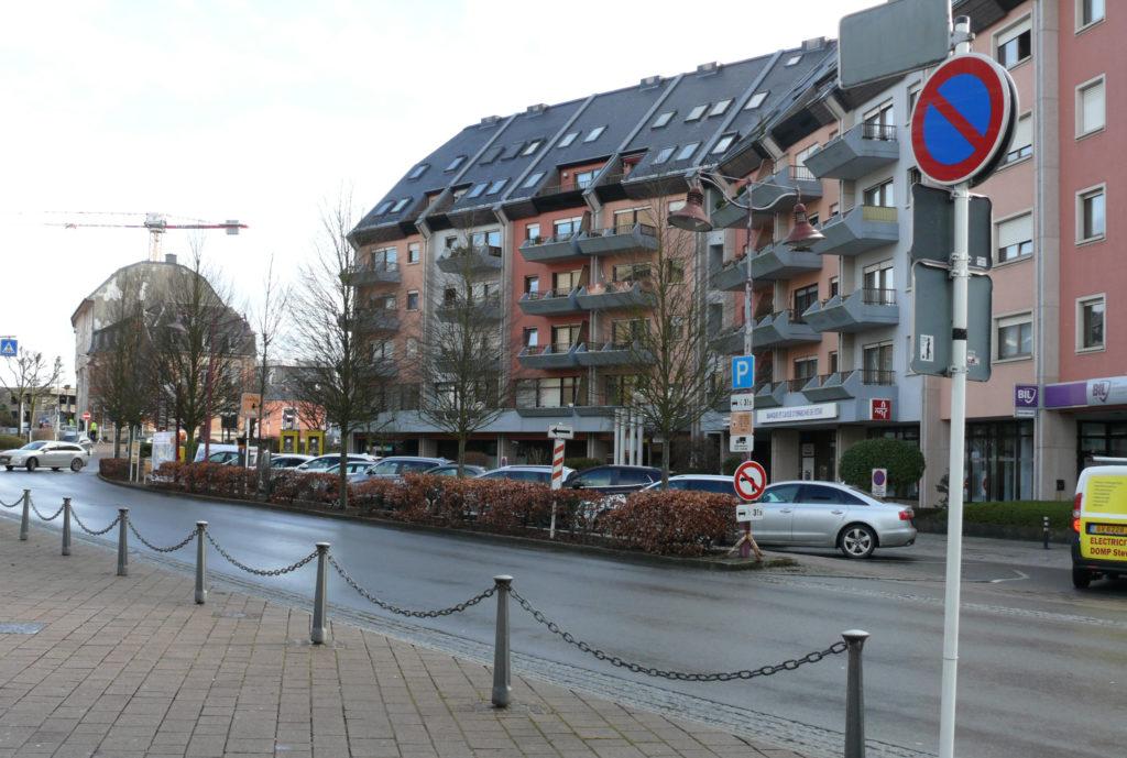 Réaménagement du parking devant l'immeuble CCAMR