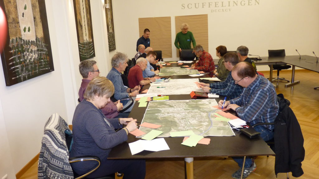 Erster Workshop – Masterplang Schëffleng