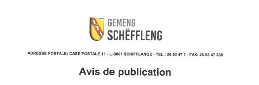 Avis de publication/ Incidences environnementales des quatre projets de plans directeurs sectoriels