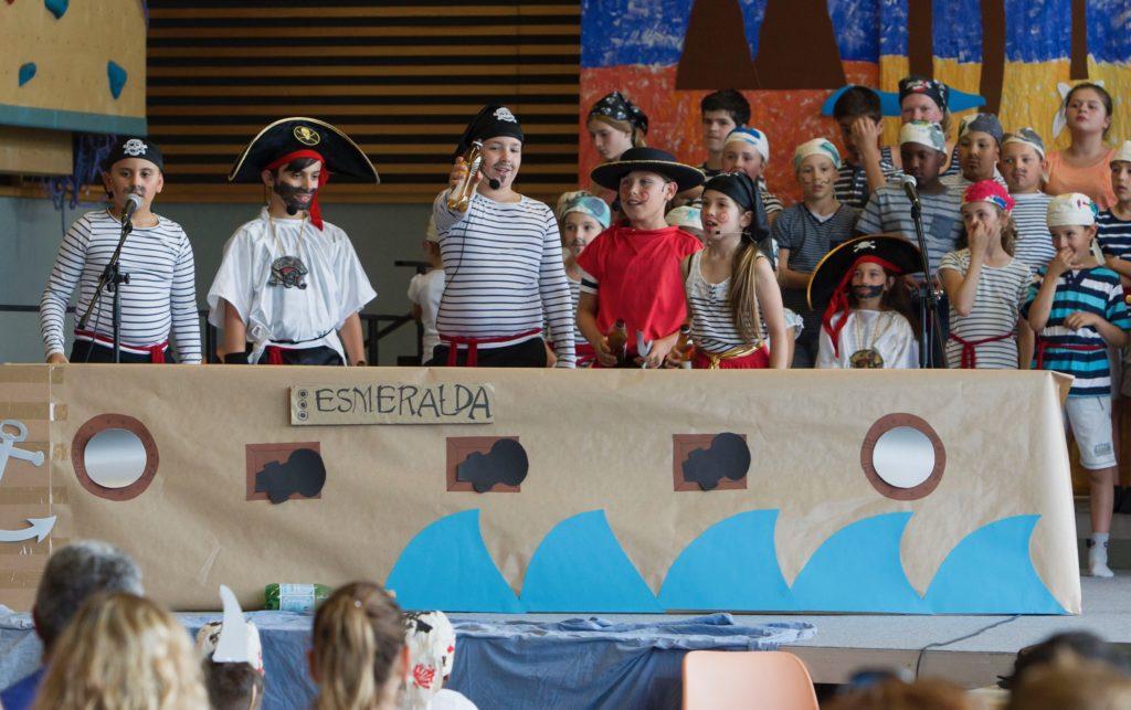 Piraten an der Stein-Schoul zu Schëffleng