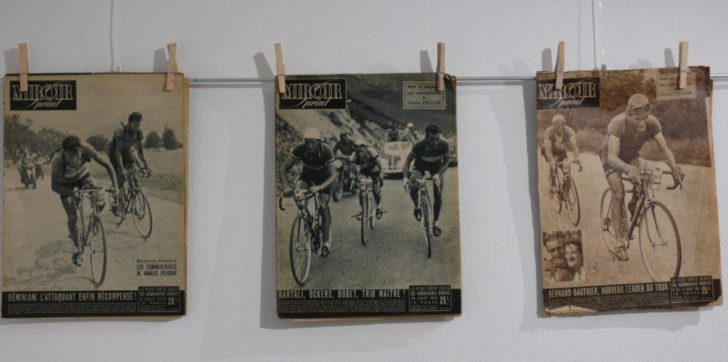 """Vernissage vun der Ausstellung """"Tour de France"""""""