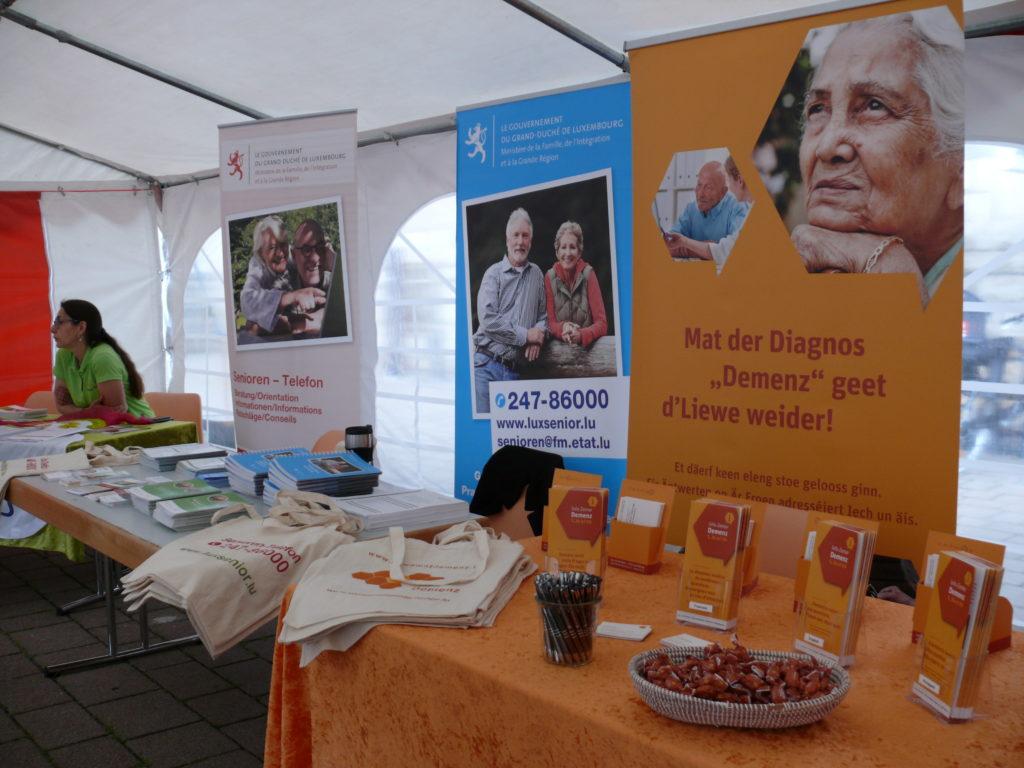 Une journée d'information – le « Senioreninfodag »