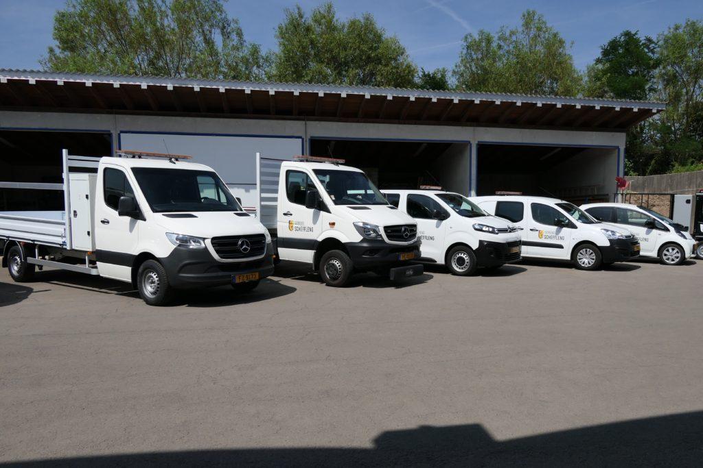 Présentation officielle de nouveaux véhicules