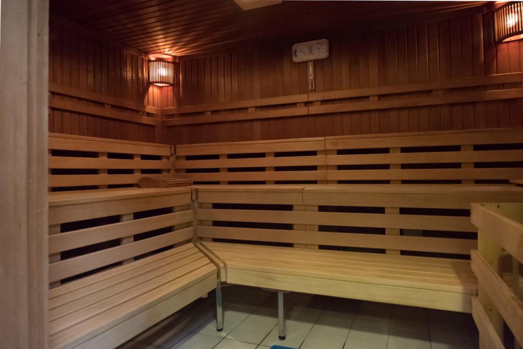 Sauna fermé