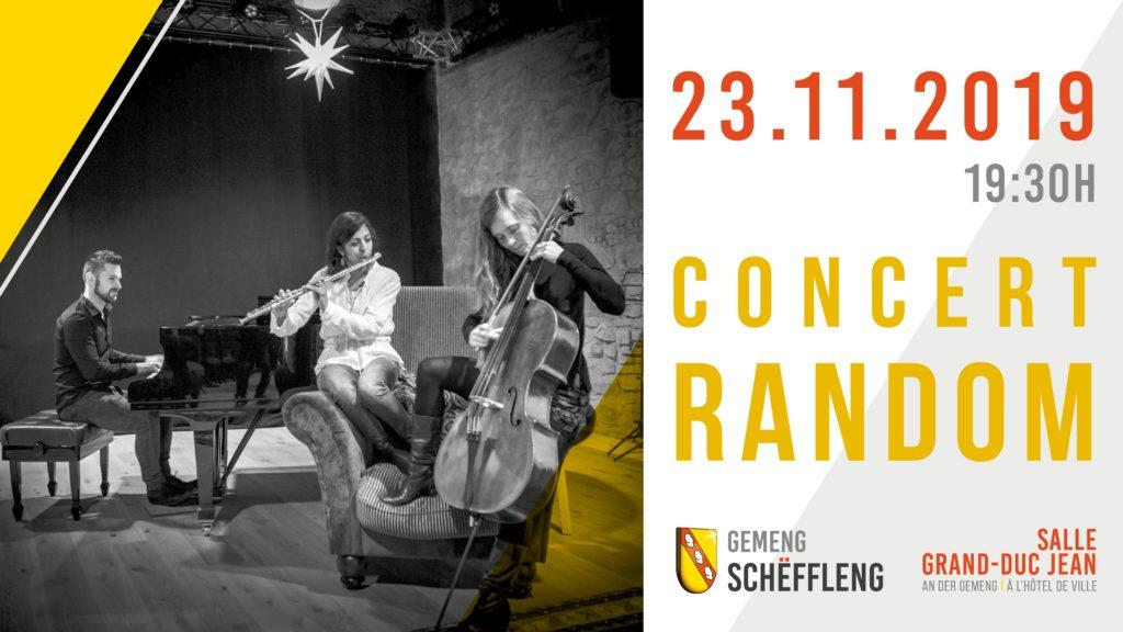"""Concert """"Le RANDOM Trio"""""""