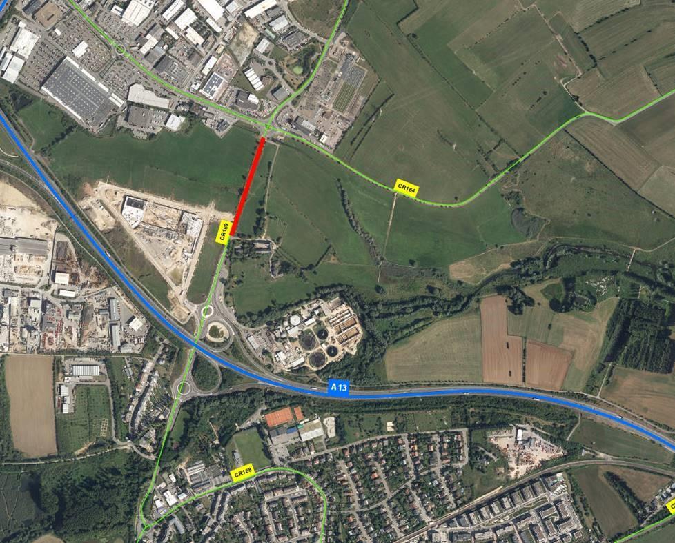 Info trafic – CR169 entre Schifflange et Foetz