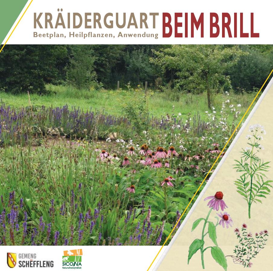"""Broschüre zum """"Kräutergarten Beim Brill"""" erschienen"""