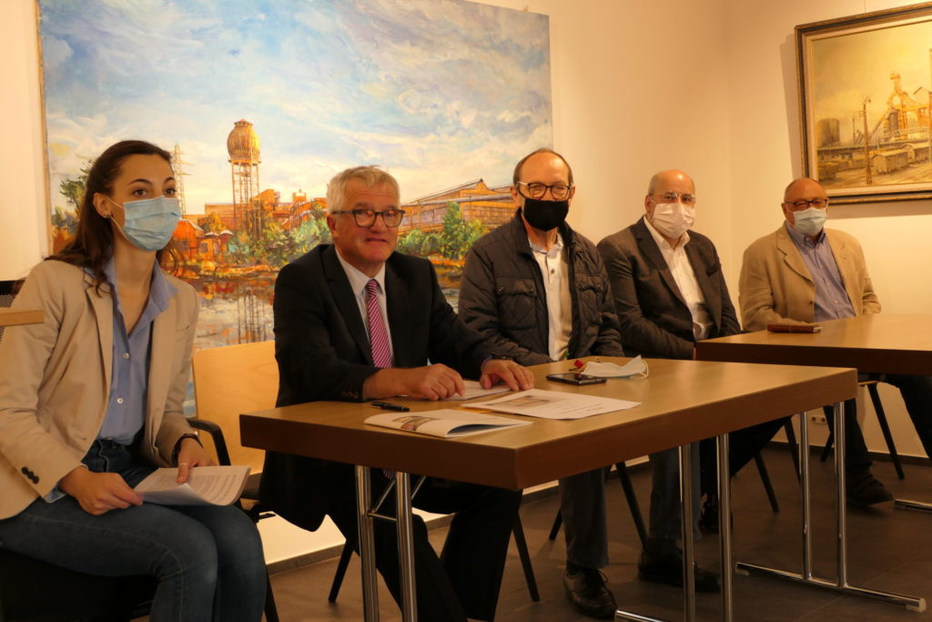 """Conférence de presse  """"Schëfflenger Konschthaus"""" Programme 2020/21"""