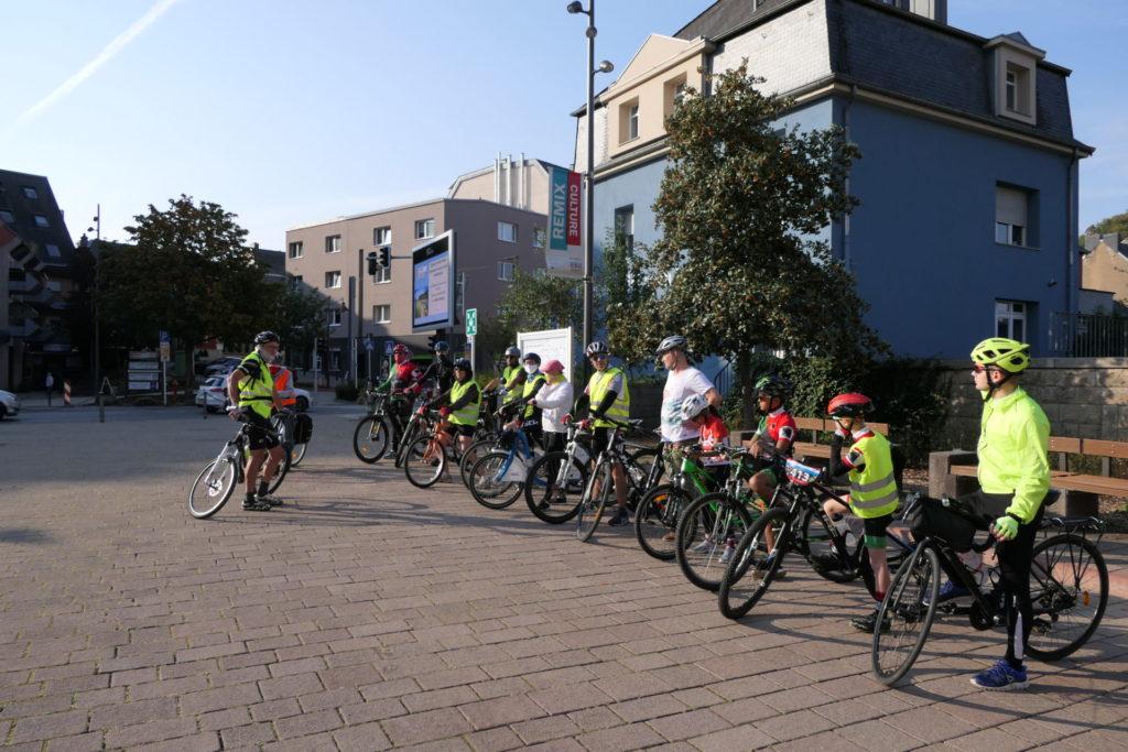 Radtour im Rahmen der Mobilitätswoche