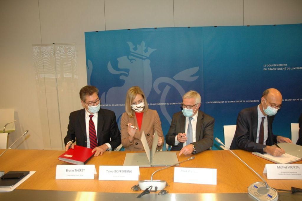 Esch-Schifflange: Accord signé / Projekt unterzeichnet