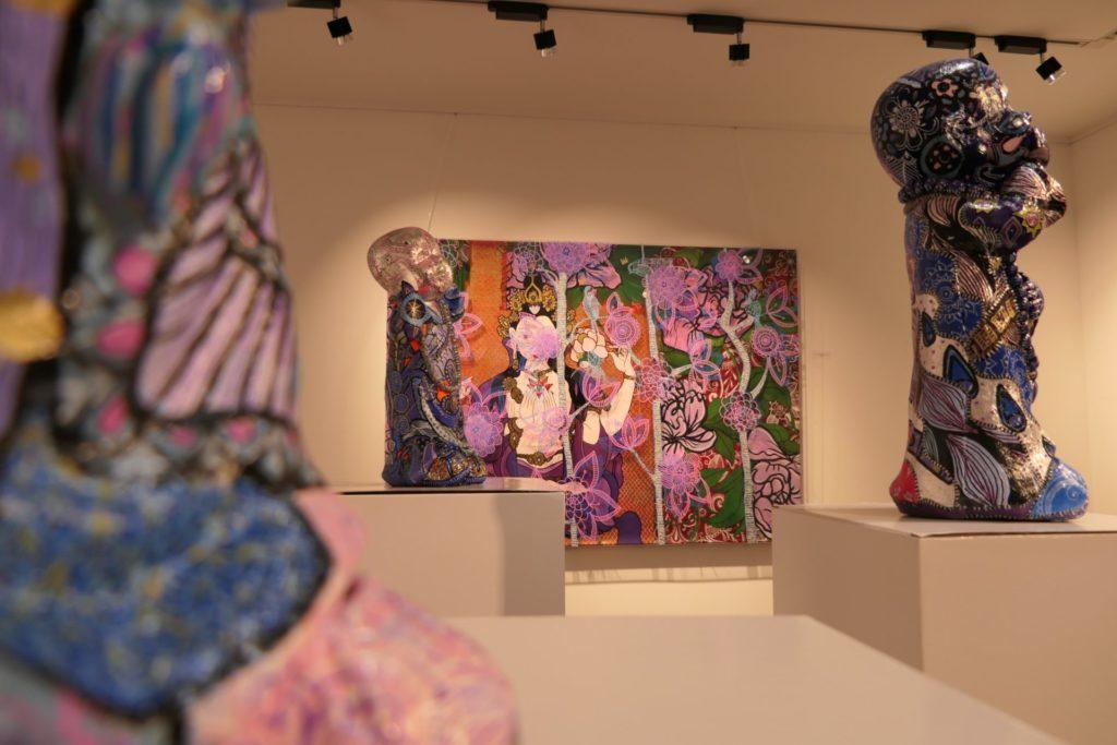 E Bléck op d'Ausstellung 'Les Silences'
