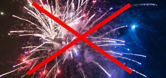 Interdiction de feux d'artifice / Verbot von Feuerwerkskörpern