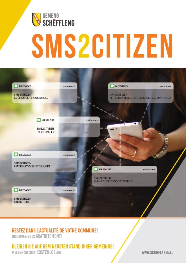 Sms2citizen: information importante