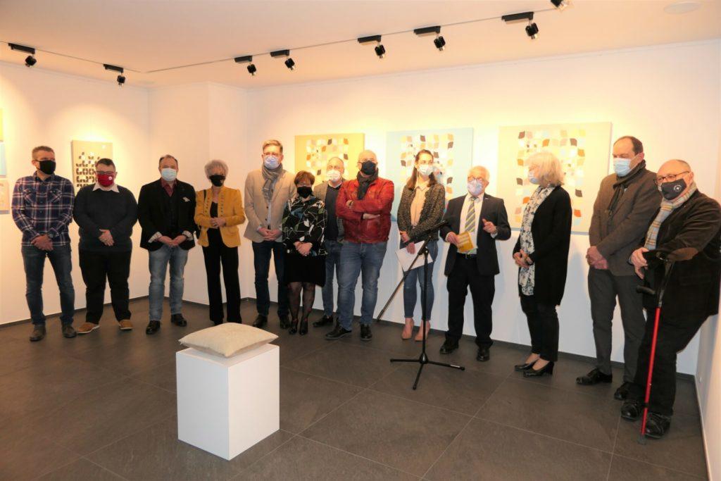 Vernissage de l'exposition « Unexpected » de Florence Hoffmmann