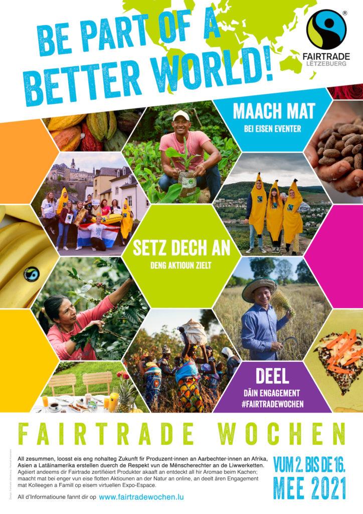 Semaines Fairtrade du 2 au 16 mai 2021