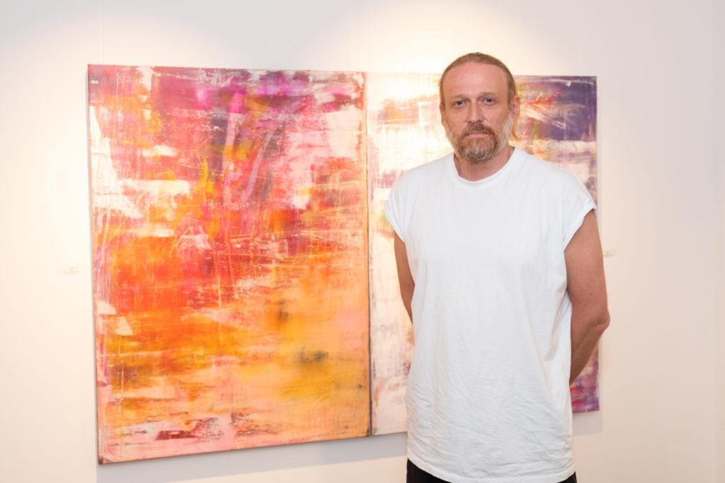 Vernissage de l'exposition « Borderline » de Christian Neuman
