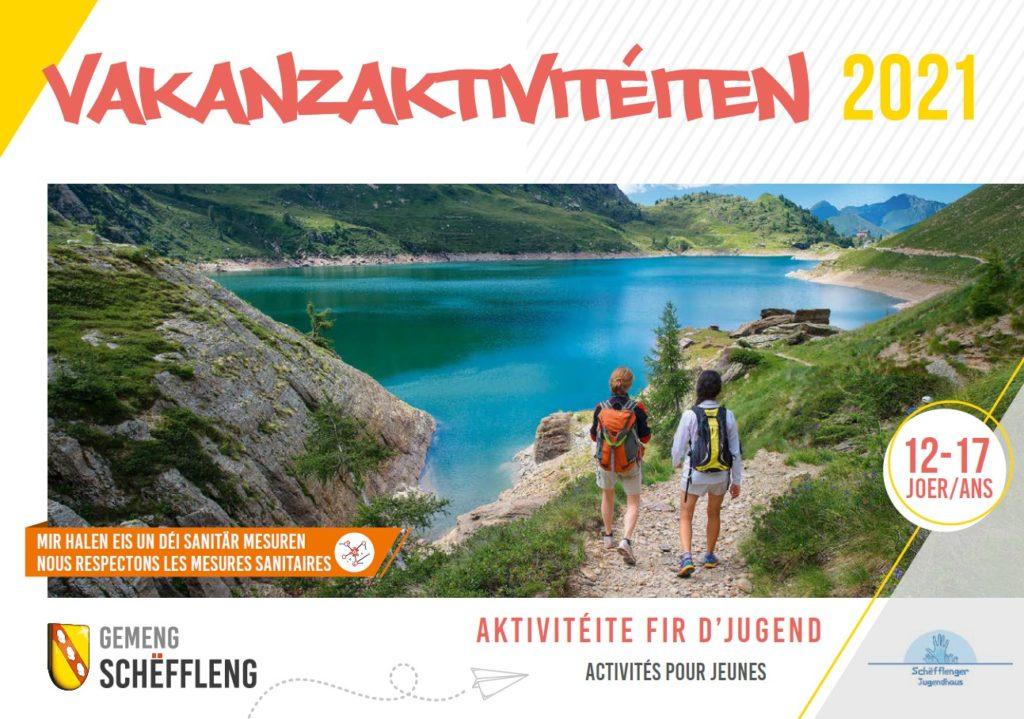 Vakanzenaktivitéiten fir déi Jonk / Activités de vacances pour jeunes