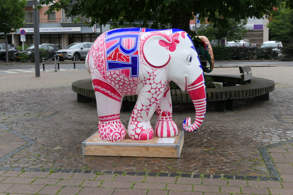 Elephant Parade Luxembourg Tour 2021