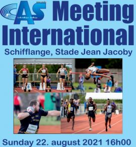 18e édition du Meeting du Cercle Athlétique Schifflange